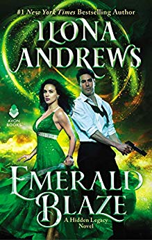 Review: Emerald Blaze by Ilona Andrews